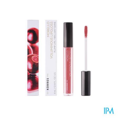 Korres Km Lipgloss Morello 16 Blushed Pink 4ml