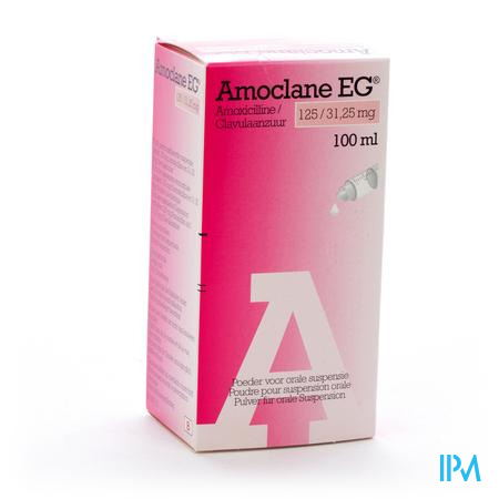 Amoclaneeg Eg 125mg Poeder Or Susp Sir 100ml