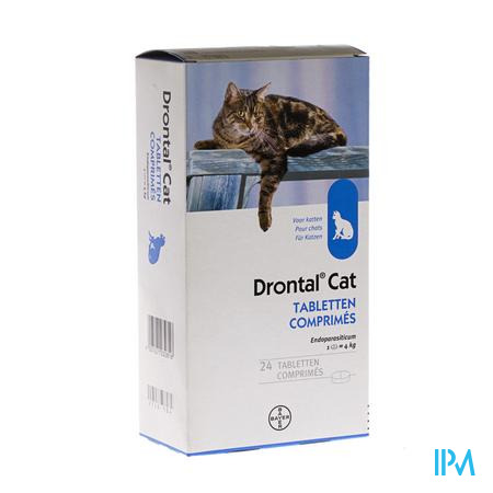 Drontal Katten Chats Tabletten 24
