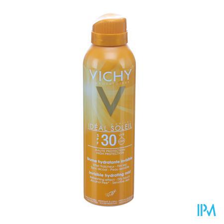 Afbeelding Vichy Ideal Soleil Onzichtbare Hydraterende Zonnemist met SPF 30 200 ml.