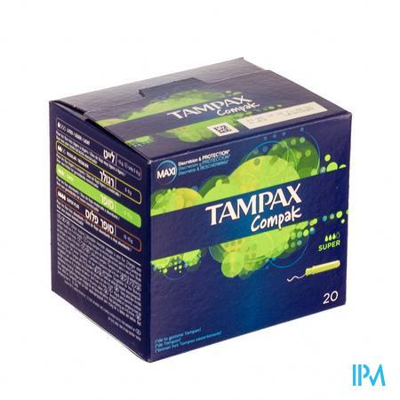 Tampax Compak Super 20 stuks