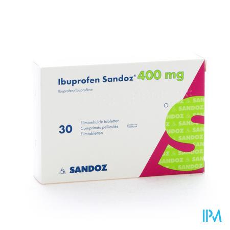 Ibuprofen Sandoz 400 mg Tabletten Pell 30x400 mg
