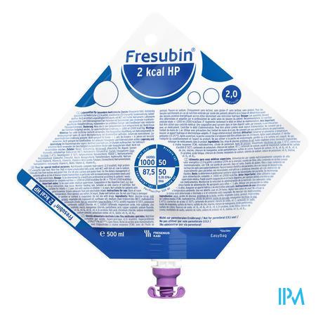 Fresubin 2kcal Hp Easy Bag 500 ml  -  Fresenius