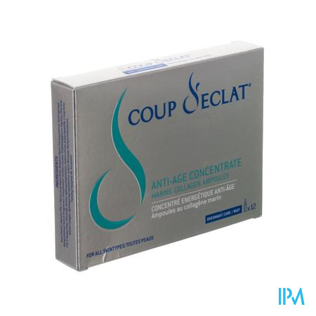 Coup D'eclat Concentre Energet. A/age Amp 12x1ml