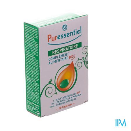 Puressentiel Ademhaling Bio 30 Capsules