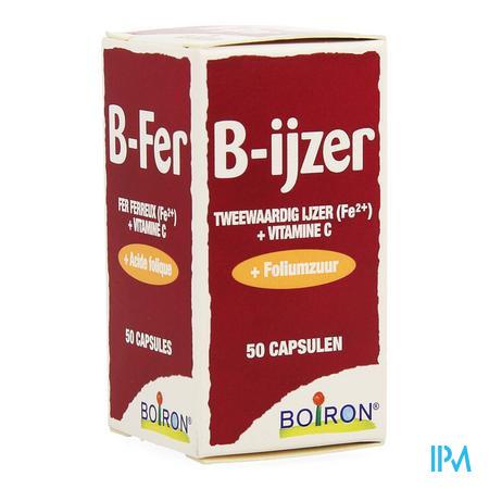 Afbeelding B-ijzer 50 capsules.
