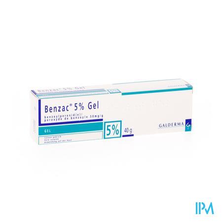 Benzac Ac 5% Gel 40g  -  Galderma Belgilux