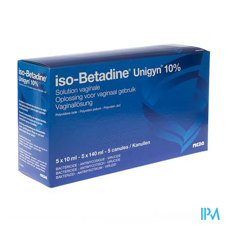 Iso Betadine Unigyn 5monodos+5canul