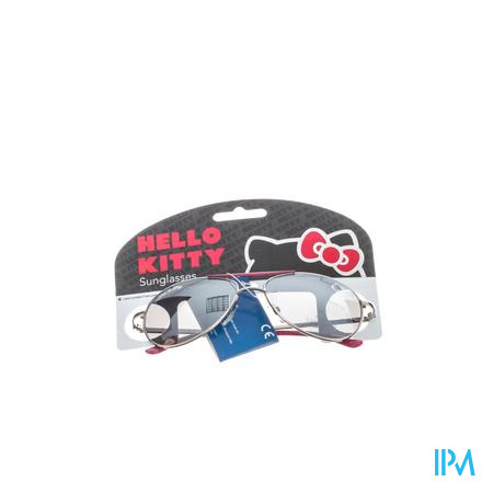 Hello Kitty Lunettes Solaire Pilote Rose 1 pièce
