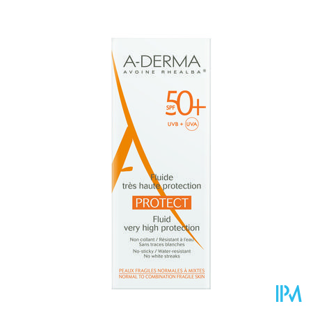 Aderma Protect Fluide Ip50+ 40ml