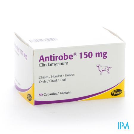 Antirobe Caps 150mg 80 (8x10)