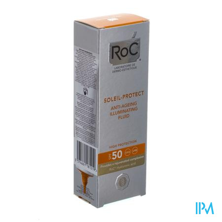 Afbeelding Roc Soleil Protect 2in1 Anti-age Fluid IP50 verhelderend.