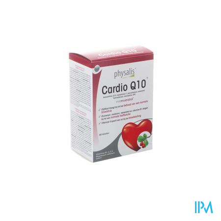 Physalis Cardio Q10 Nf Comp 60