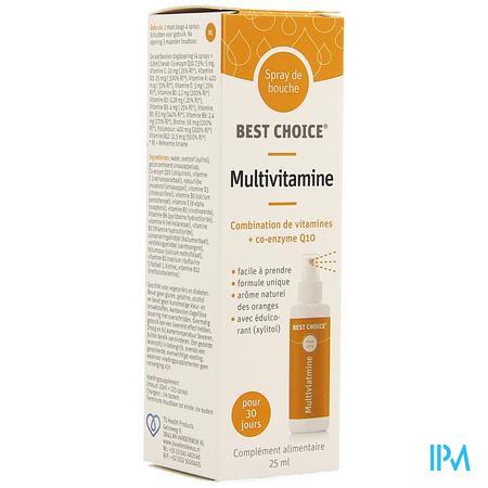 Best Choice Mondspray Multivitamine 25ml