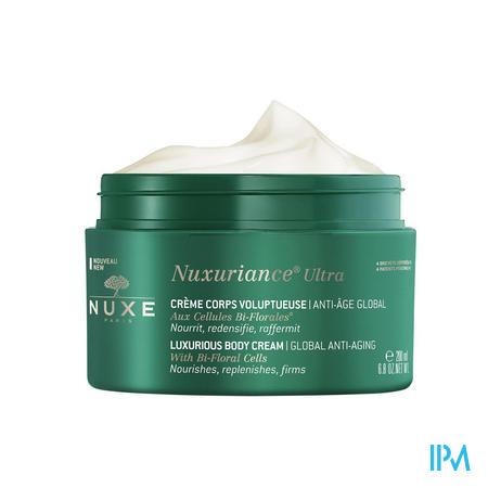 Afbeelding Nuxe Nuxuriance Ultra Rijkelijke Totale Anti-Ageing Bodycrème met Tweebloemige Cellen Pot 200 ml.