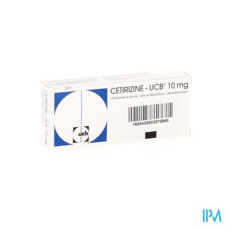 Cetirizine Ucb Comp Pel. 20 X 10mg