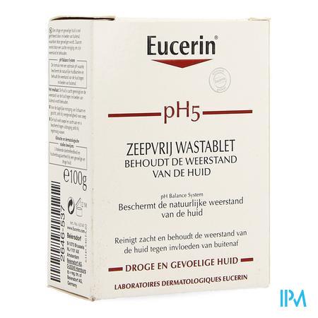 Afbeelding Eucerin PH5 wastablet z/ zeep 100g.