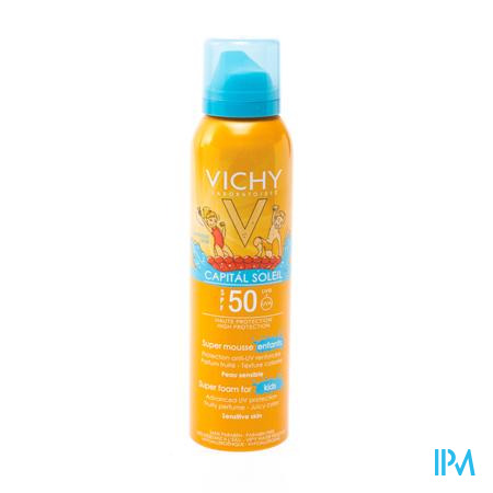 Vichy Mousse Soleil Capital Soleil Enfant Spf50 150 ml