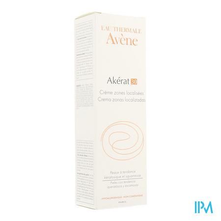 Afbeelding Avène Akérat 30 Crème voor Lokaal Gebruik op Dikke Schilferige Plaques 100 ml.