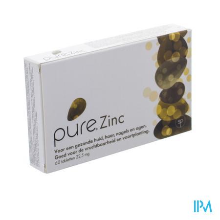 Afbeelding Pure Zinc 60 Tabletten.