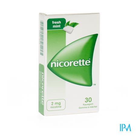 Nicorette Kauwgom Fresh 2/30 30 kauwgoms