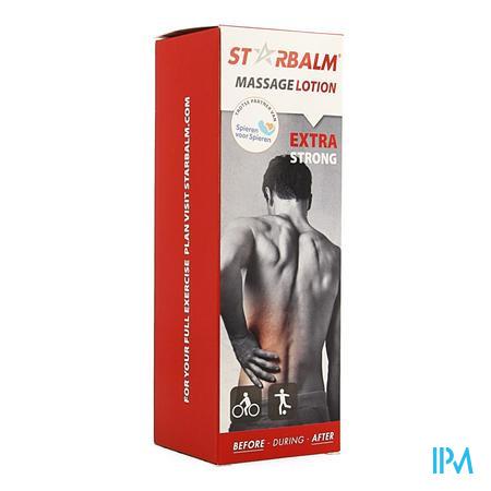 Afbeelding Star Balm Massage Lotion Extra Strong voor Soepele Spieren en Gewrichten 200 ml.