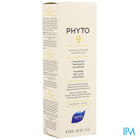 Phyto 9 Dagcreme Zeer Dr Haar 50ml