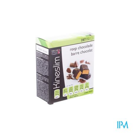 Kineslim Barre Aux Chocolat 4 pièces