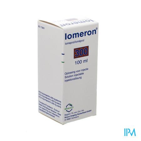 Iomeron Bracco Fl 300mg/ml 100ml