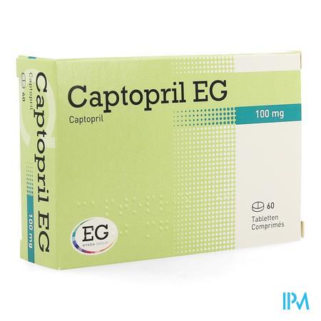 Captopril Eg 100mg Comp 60x100mg