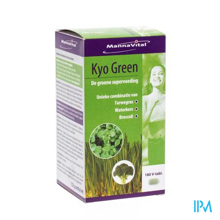 Mannavital Kyo Green 180 tabletten