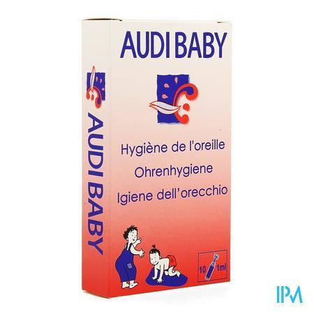 Afbeelding Audibaby voor Oorhygiëne Ampule 1 ml 10 Stuks.