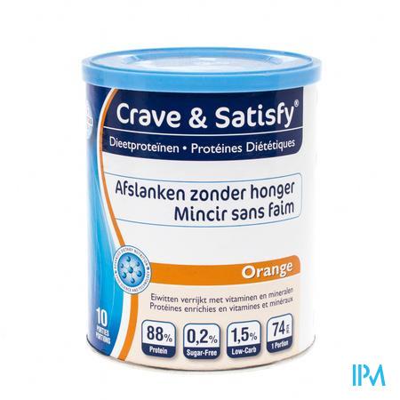 Crave & Satisfy Protéines Diététique Orange 200 g poudre