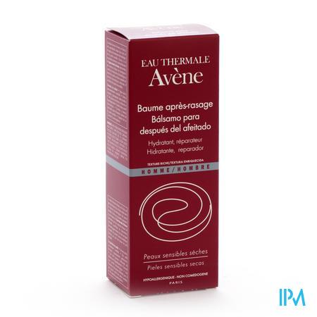 Avène Homme (Rood)  Aftershave Balsem 75ml