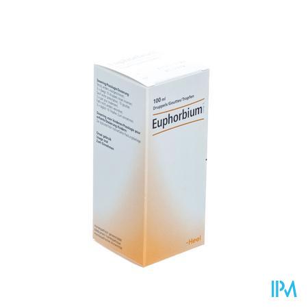 Euphorbium Compriméss Gouttes 100 ml Heel