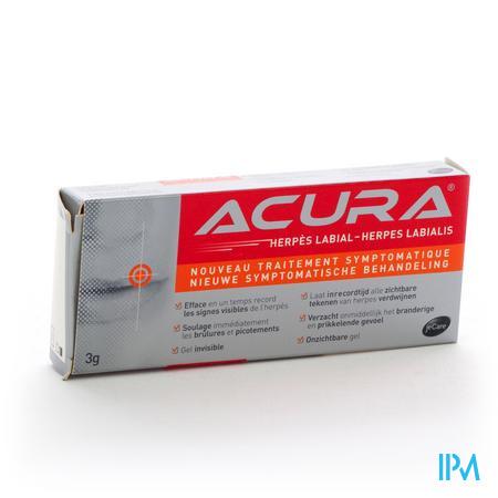 Acura Herpes Labialis Koortslip 3 g tube