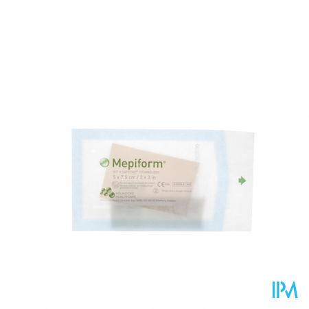 Mepiform Pansement Adhesive Anti cicat. Ster 5x 7,5cm 5 293200