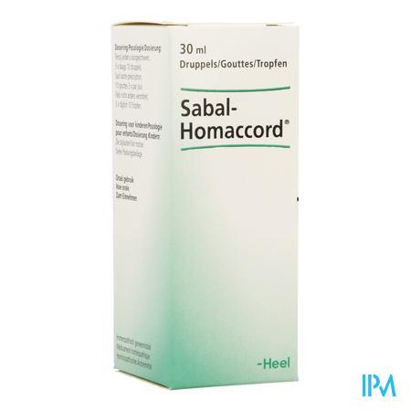Sabal-homaccord Gutt 30ml Heel