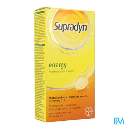 Supradyn Energy Co Q10 30 comprimés effervescents