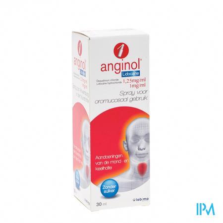 Anginol Lidocaïne 30 ml spray