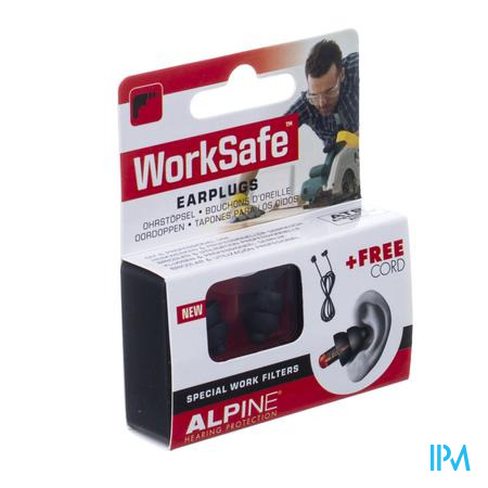 Alpine Worksafe Oordoppen New 1p