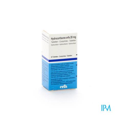 Hydrocortisone Bepb Comp 20 X 20mg
