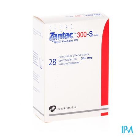 Zantac 300 Comp Sol 28 X 300mg