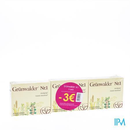 Grunwalder Nr1 3 x 60 comprimés