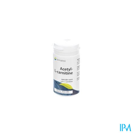 Acetyl-l-Carnitine 500mg 60 capsules