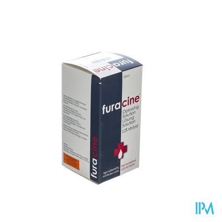 Furacine Nitrofural Oplossing 250 ml