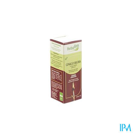 Herbalgem Ginkgo Biloba Maceraat 50ml