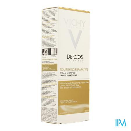 Vichy Dercos Voedend&herstellend Sh 200ml