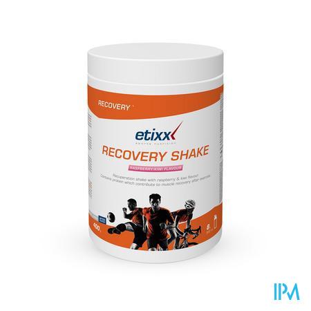 Afbeelding Etixx Recovery Shake met Framboos-Kiwi Smaak 400 g.