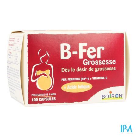 B-ijzer Zwangerschap Caps 100 Boiron